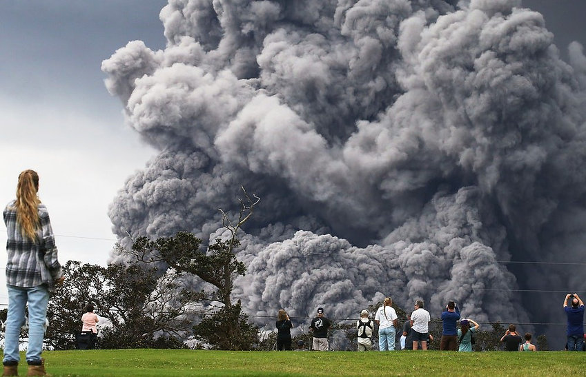 Nothing to see here /What Is Kilauea's Impact on the Climate? The New Republic