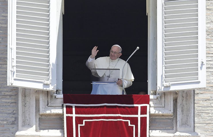 When subtlety fails/Pope warns climate change turning Earth into desert, garbage Associated Press