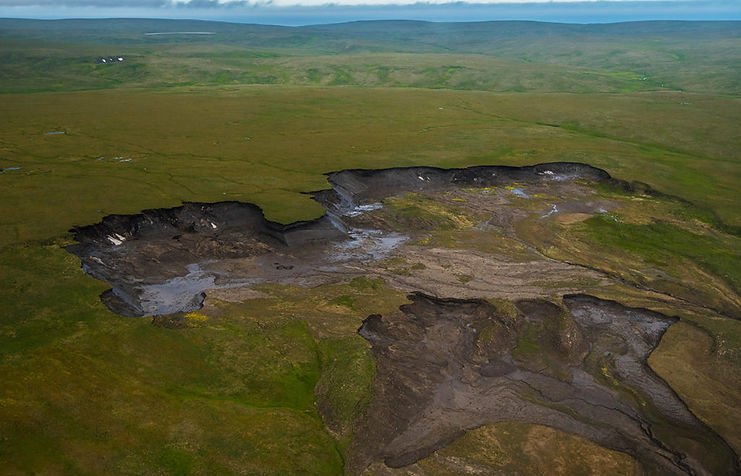 Hidden carbon arsenal/Permafrost and wetland emissions could cut 1.5C carbon budget 'by five years' Carbon Brief