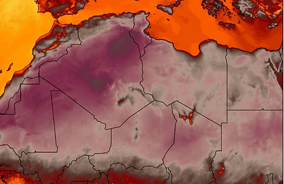 Global heatwave /Africa may have witnessed its all-time hottest temperature ThursdayWashington Post