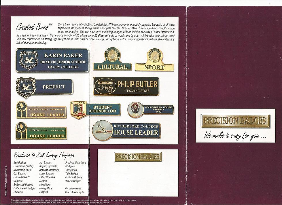 Artwork example - school colour brochure