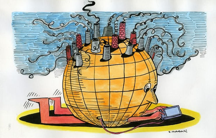 Phones on fire /Our phones and gadgets are now endangering the planet The Guardian