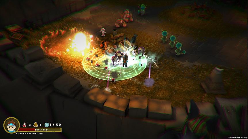 Curse of Mermos Screenshot