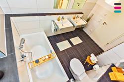 Badezimmer - mal von Oben