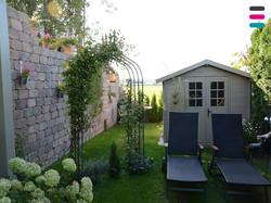 Garten-Ausblick