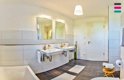 Einrichtungsbeispiel Badezimmer