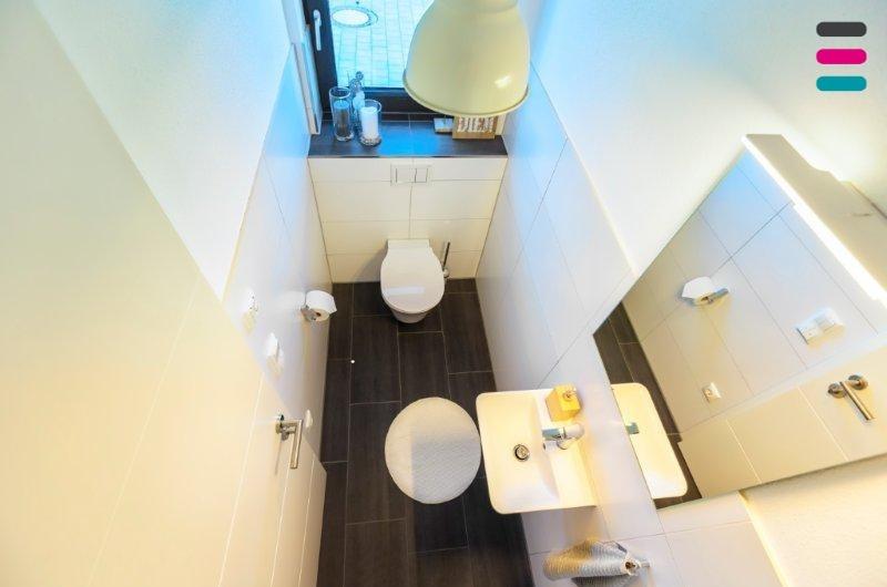 Gäste-WC - Blick von oben
