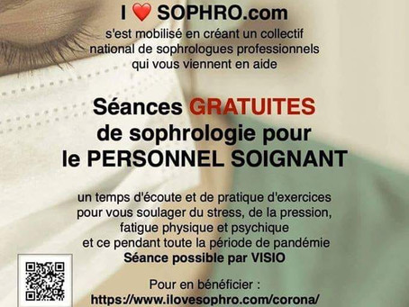 Séance sophro solidaire