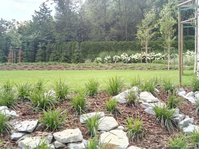 Projekt ogrodu w Lednicy Górnej