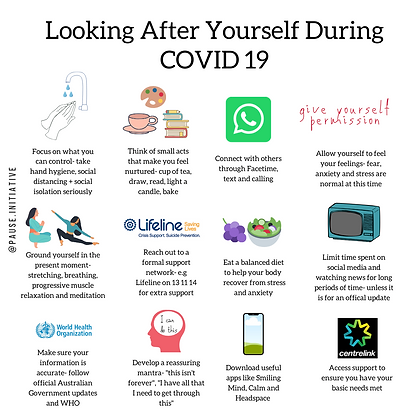 Looking After Yourself During COVID 19.p