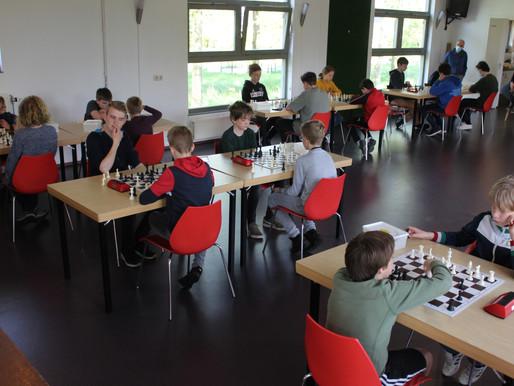Tussenstand SC de Paardensprong 15 jaar toernooi.