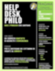 Help Desk Philo Pragma