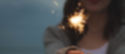girl with sparkler - pexels free pic no