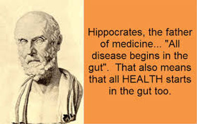 Hippocrates - all disease begins in the