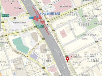 【新都心ビル】さいたま新都心駅徒歩6分!新築賃貸ビル2022年8月竣工(予定)