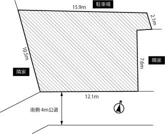 【販売情報・売地】上尾市大字領家137.48㎡建築条件なし!