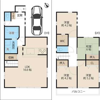【賃貸情報】川口:平成19年築の一戸建て4LDK!ペットOK