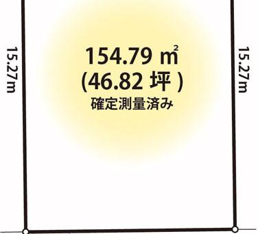 【土地】久喜市下清久★46坪整形地・建築条件なし