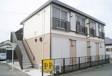 行田市アパート外観
