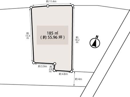 【土地】さいたま市西区高木・約55坪!建築条件なし