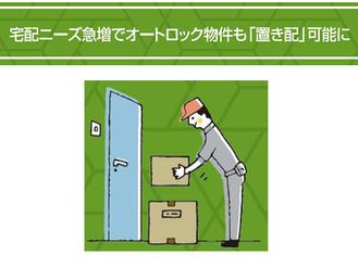 【不動産コラム】宅配ニーズ急増でオートロック物件も「置き配」可能に