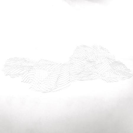 横たわる格子ー壁ー