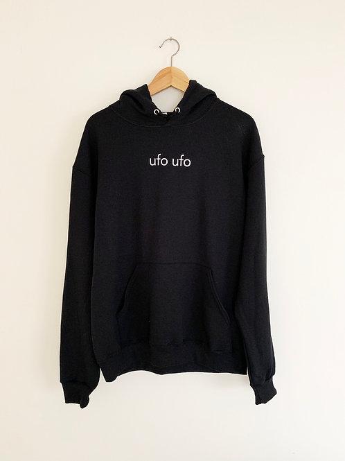 ufo ufo - black hoodie