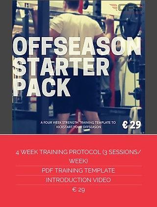 OFFSEASON STARTER PACK