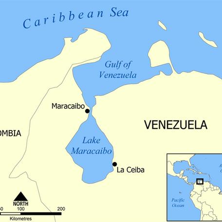 Venezuela Oil Spill on Lake Maracaibo