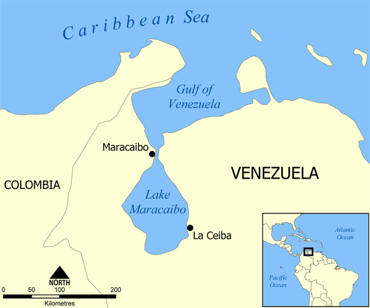 Venezuela Oil Spill on Lake Maracaibo