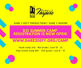 dare 2 defy productions _ dare 2 inspire