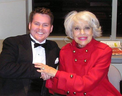 Carol Channing and John Faas