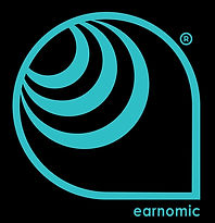 Earnomic Logos final emblem with tradema