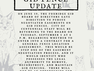 GID Fence Update