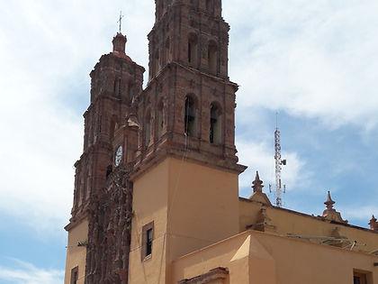 Parroquia de Nustra Señora de los Dolores en Dolores Hidalgo