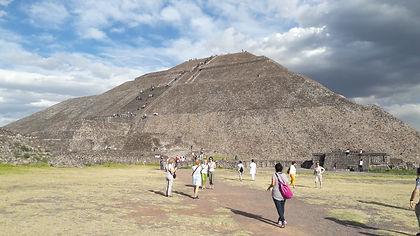 Pirámide del Sol en Teotihuacan