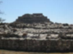 Pirámide en Cañada de la Virgen