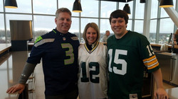 Microsoft at Packers' Game
