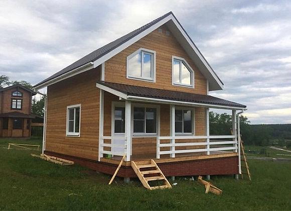Построенный дом 61