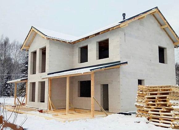 Построенный дом 60