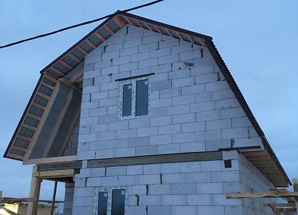 Построенный дом 33