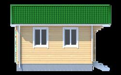 Проект дачного дома 2 х 3  «Малыш2»