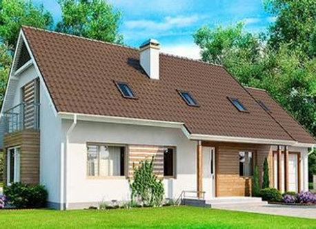 """Каменный дом """"Д-9""""  - 238,8 кв.м."""