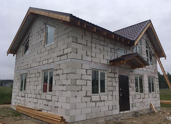 Построенный дом 40
