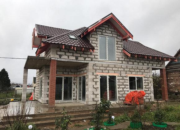 Построенный дом 49