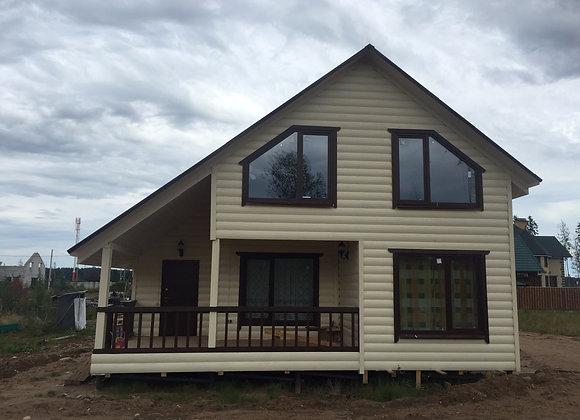 Построенный дом 52