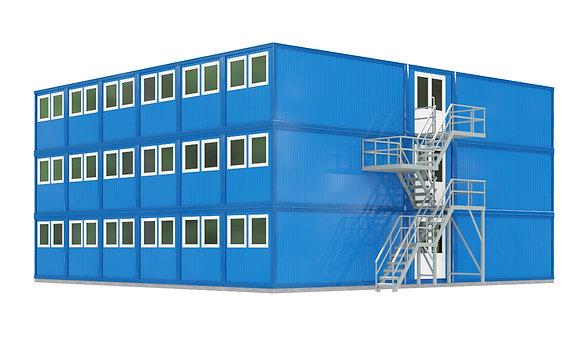 Модульное здание №12 (622 кв.м.)
