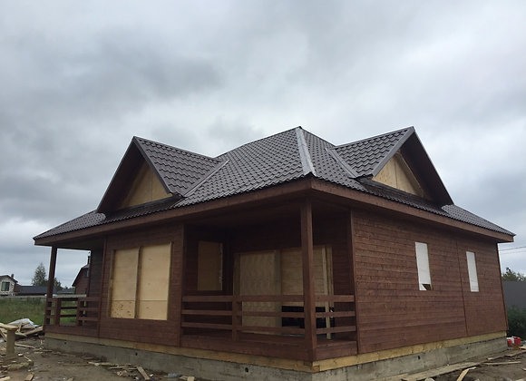 Построенный дом 3