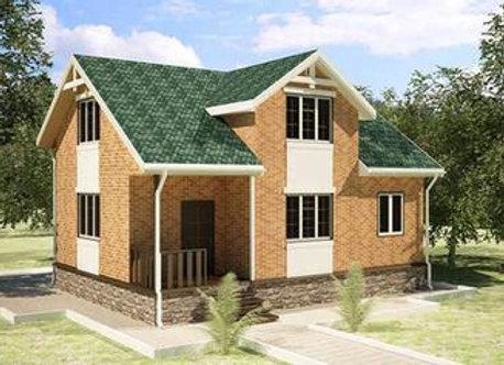 """Каменный дом """"Д-3""""  - 149,3 кв.м."""