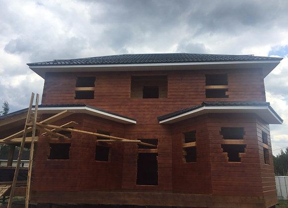 Построенный дом 51